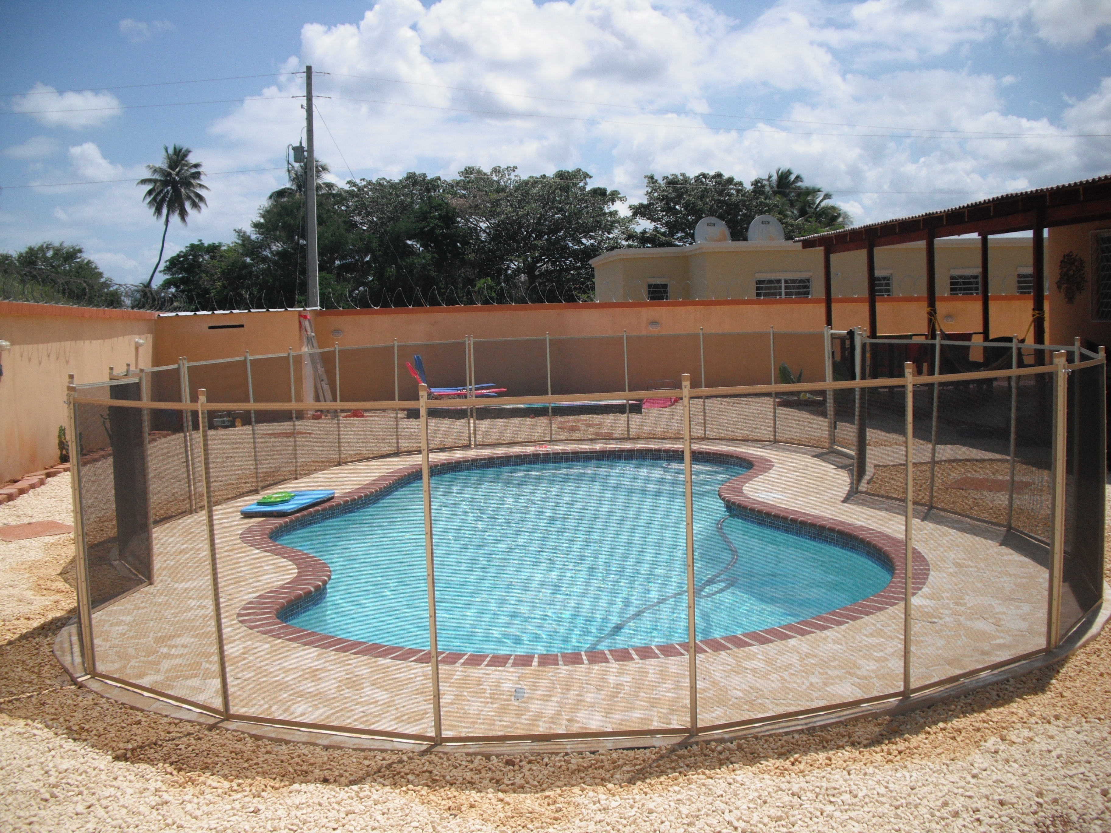 removable fence panels - Removable Pool Fence